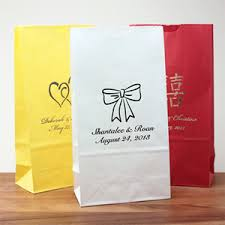 wedding goodie bags personalized wedding goodie bag 25 pcs favor bags favor
