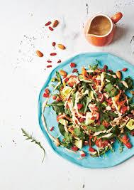 cuisine detox detox rainbow salad with almond butter dressing recipe sbs food