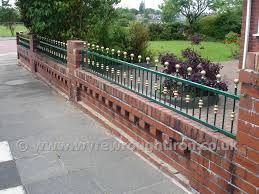 wyre wrought iron railings garden ornamental security