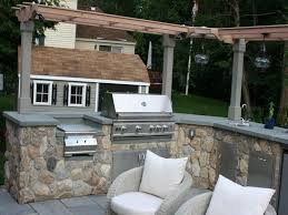 prefab outdoor kitchen island frames pavillion home designs