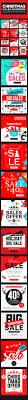 set winter mobile sale banners sale ai illustrator