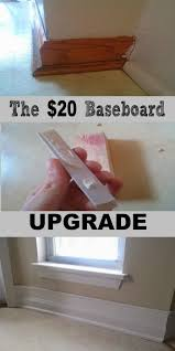 How To Update Your House by Diy 20 Baseboard Upgrade Baseboard House And Moldings