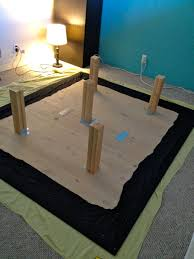 Building A Platform Bed With Legs by Finally A Cal King Bed Frame With Space For Dog Kennels Ikea