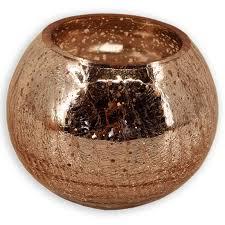 Wohnzimmer Deko Kerzen Windlichtglas Kupfer Kugel 15 Cm Kerzen U0026 Kerzenhalter