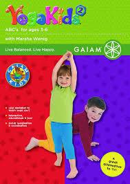 amazon com yoga kids vol 2 abc u0027s for ages 3 6 marsha wenig