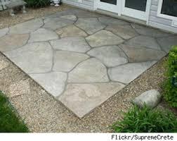 Ideas For Concrete Patio Top 23 Stamped Concrete Designs