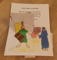 Jesus Heals The Blind Man Preschool Craft Miracles Of Jesus Lesson Plans Bible Songs And More