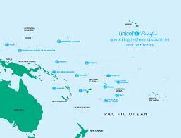 Tonga Map Unicef Pacific Island Countries About Us Where We Work