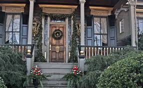 Christmas Decorations Ideas Outdoor Decorating Ideas Awesome Home Exterior Design For Christmas With