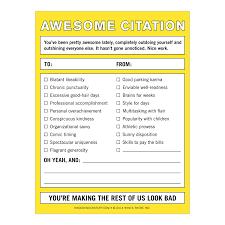 amazon com knock knock awesome citation nifty note pad health