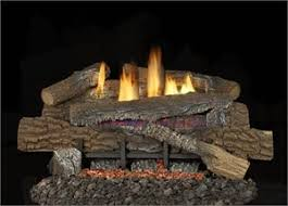 Fireplace Gas Log Sets by Boulder Mountain Concrete Gas Log Set 24