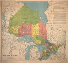 Maps Of Canada by Map Of The Province Of Ontario Dominion Of Canada Digital