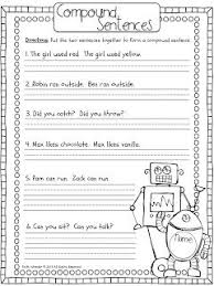 brilliant ideas of free compound sentences worksheets in worksheet