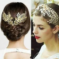 gold hair accessories vintage wedding bridal gold hair accessories headband crown comb