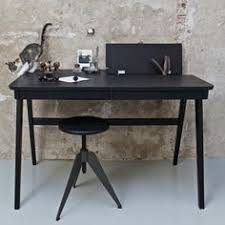 Black Ash Computer Desk Clarion Wooden Computer Desk In Ash Veneer With 2 Drawers Is A