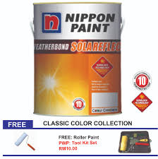nippon paint weatherbond solareflect 5l classic collection colors