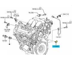 brand new oem engine coolant temperature sensor 2002 2011 mazda 6
