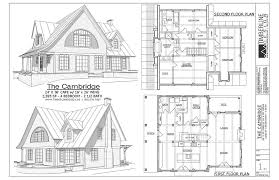a frame house plans with loft the cambridge craftsman style timber frame house plans 2595 sf