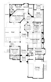 House Plans With Courtyard by 109 Best House Plans Images On Pinterest House Floor Plans