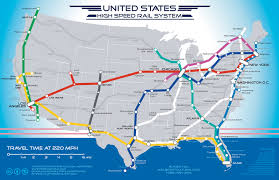 us map atlanta to new york california high speed rail a national high speed rail route map