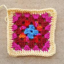 free pattern granny square afghan roseanne reboot granny square free crochet pattern crochetbug
