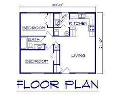 Housing Blueprints Floor Plans 2 Bedroom Floor Plans 30x30 Modern Hd