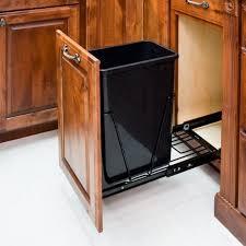 Wooden Kitchen Garbage Cans by Kitchen Utensils 20 Ideas Kitchen Trash Can Cabinet Wonderful