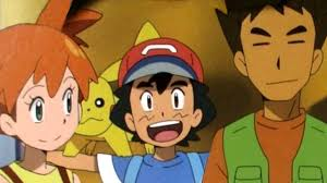 misty and brock return to the pokemon anime youtube