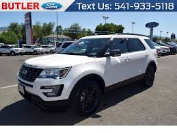 Ford Explorer White - 2017 ford explorer xlt sport 4 6 for sale 33 used cars from 30 862