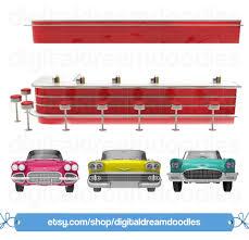 classic cars clip art diner clipart 50s diner clip art retro clipart jukebox clipart