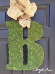 moss covered letters diy moss covered letter tutorial 11 magnolia