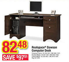 Office Depot Computer Desks Realspace Dawson Cinnamon Cherry Computer Desk Office Depot
