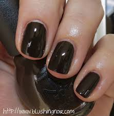 nicole by opi and dove dark chocolate nail polish swatches