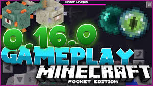 minecraft version apk mcpe 0 16 0 leaked apk gameplay minecraft pe pocket