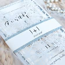 silver wedding invitations glittery white and silver wedding invitations with glittery custom