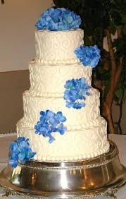wedding cake blue hydrangeas wedding cakes pictures blue