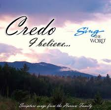 believe images credo i believe sing the word