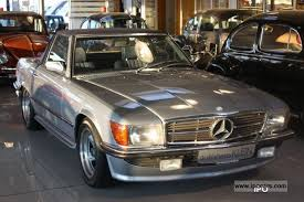mercedes sl280 1981 mercedes sl 280 g cat automatic amg design car