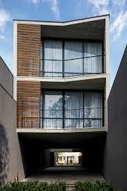 three story apartment building proposes a provocative dialogue