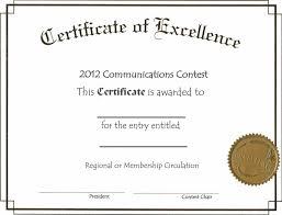 certificate awards certificate template word