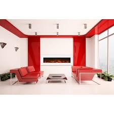elite flame ashford 50 inch electric wall mounted fireplace white