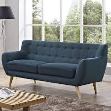 Langley Street Milland MidCentury Sofa  Reviews Wayfair - Mid century sofas