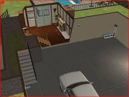 split level garage mod the sims split level with walkout basement 107k