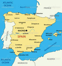 Portugal Spain Map by The Map Of Spain La Herradura Is Located On The South Coast Of