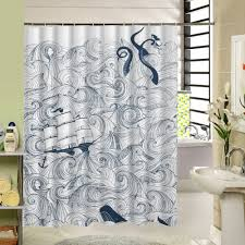 Modern Bathroom Shower Curtains by Compare Prices On Modern Octopus Online Shopping Buy Low Price