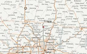 frisco map frisco location guide