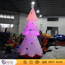 Decoration For Christmas Games by Aliexpress Com Buy Inflatable Christmas Tree With Led Lighting