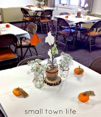 small town life gender neutral fall baby shower