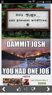 Only You Can Prevent Forest Fires Meme - 62 1658 only sh your name here can prevent wildfires