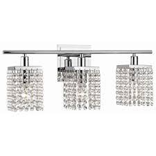 light crystal bathroom vanity light destination lighting with